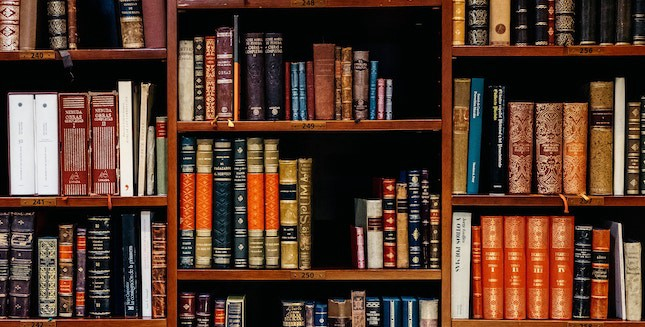 Legal research and books