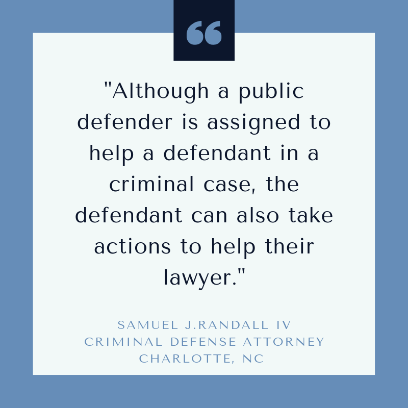 defendants can help their public defenders