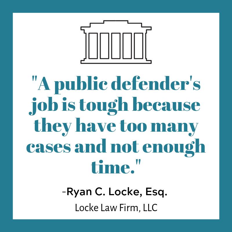 A public defenders job is tough