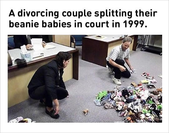 """Courtroom Meme Was this in Florida? It seems very """"Florida court case"""". Though, I understand the need to go to court to figure out beanie baby division. It can be a difficult thing."""