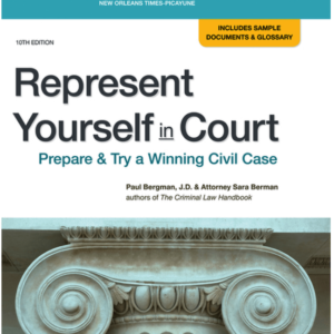 Represent Yourself in Court Book by Nolo