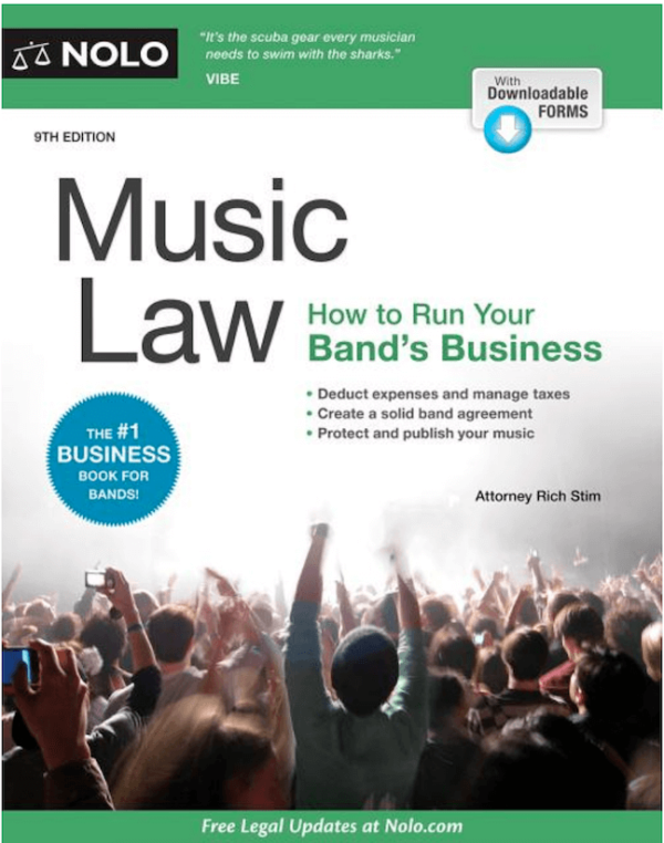 Music law for bands and music professionals.