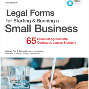 Forms for starting and Running a small business