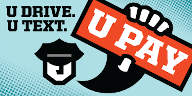 New Jersey's UDrive. UText. UPay Logo