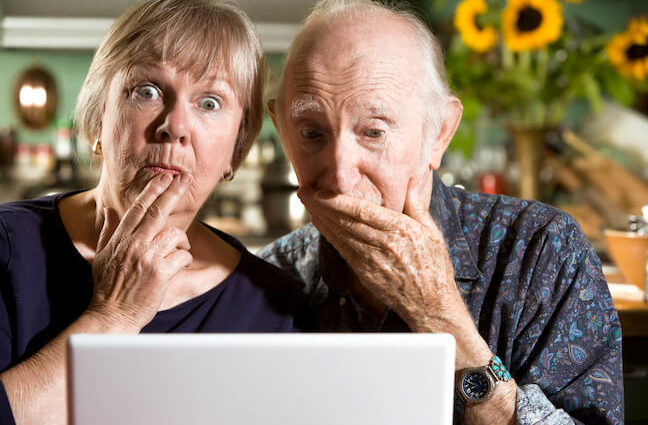 Online money scams seniors face