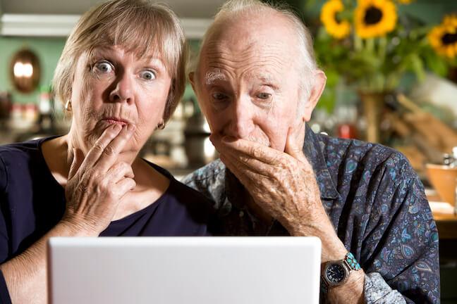 Online money scams seniors face