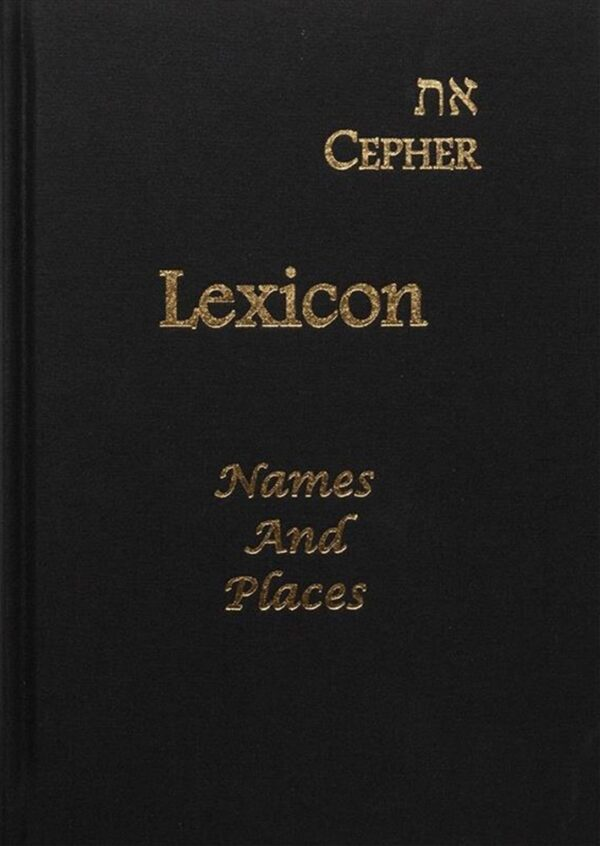 Lexicon for eth--Capher Names and Places