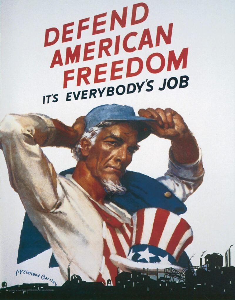 WWII us government propaganda